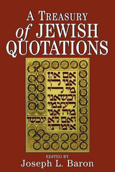 Amazing A Treasury Of Jewish Quotations Baron Joseph L Epub Pdf Wiring Cloud Venetbieswglorg