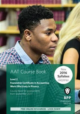 AAT Work Effectively In Finance Synoptic Assessment Coursebook