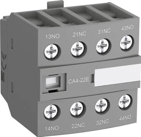 contactor wiring diagram timer datasheet images abb block contactors contactors control products