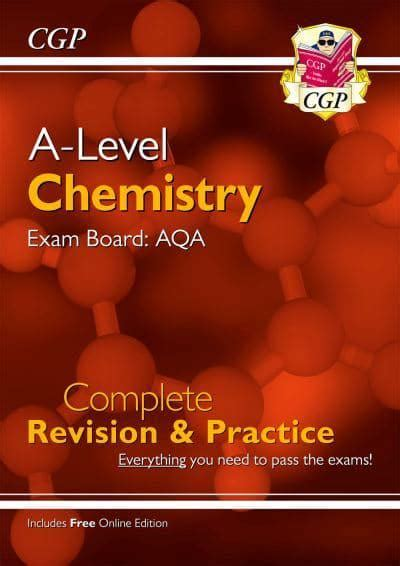 ALevel Chemistry AQA Year 2 Complete Revision Practice With Online Edition CGP ALevel Chemistry