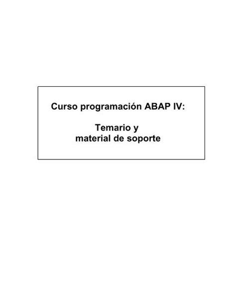 Abap Manuals (ePUB/PDF) Free