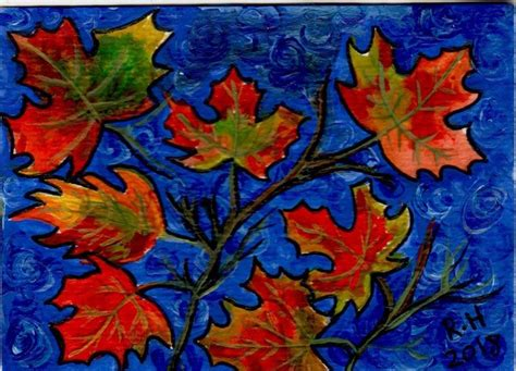 Abstract Autumn 30 Designs To Paint Your Colors Of Autumn Fall