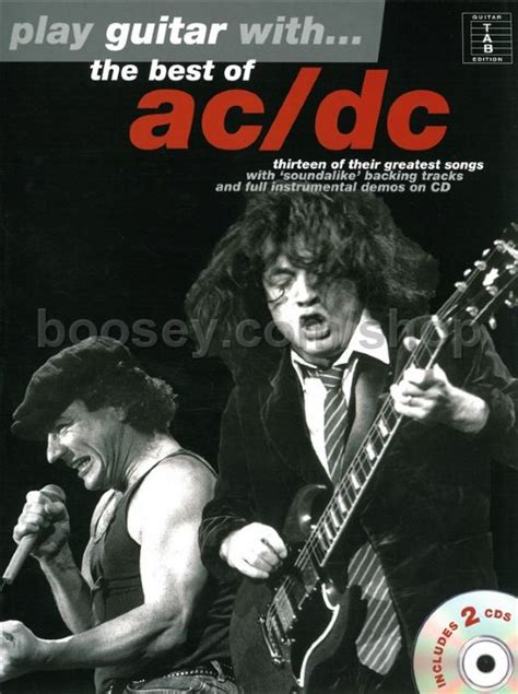 Ac Dc Play Guitar With Best Of 2 Cd
