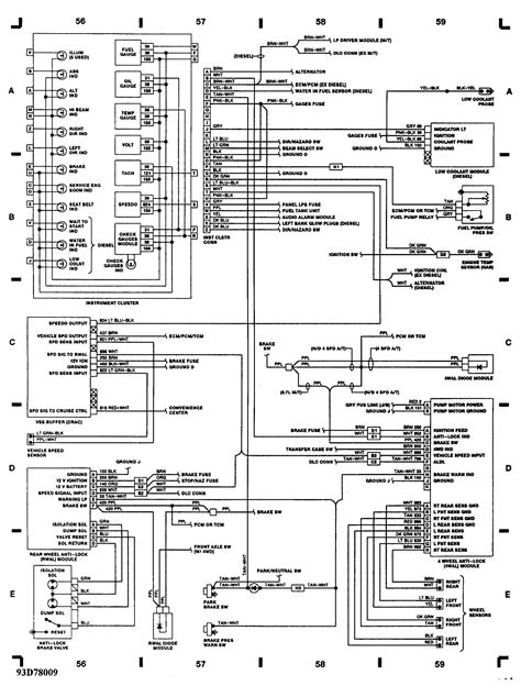 Ac Wiring Diagram 94 Chevy - Catalogue of Schemas on