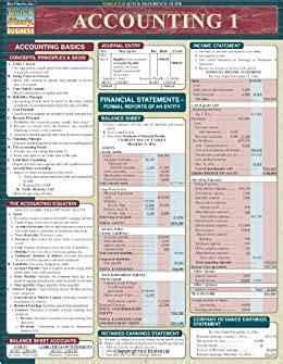 Accounting 1 Quickstudy Reference Guides Academic