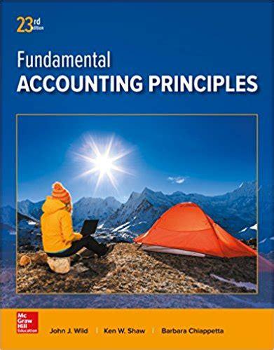 Accounting Principles Solution Manual (ePUB/PDF)