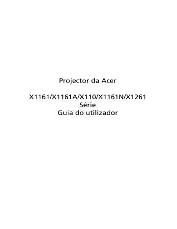 Acer X110 Manual (ePUB/PDF) Free