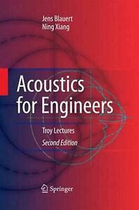 Download Acoustics For Engineers Blauert Jens Xiang Ning From