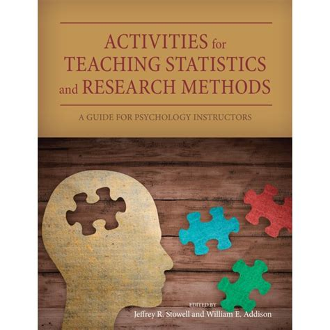 Activities For Teaching Statistics And Research Methods A Guide For Psychology Instructors