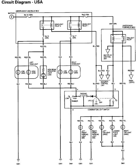 Magnificent Acura Headlight Wiring Diagram Epub Pdf Wiring Cloud Hisonuggs Outletorg