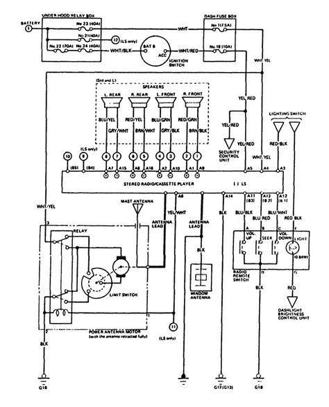 Acura Legend Stereo Wiring Diagram (ePUB/PDF) Free