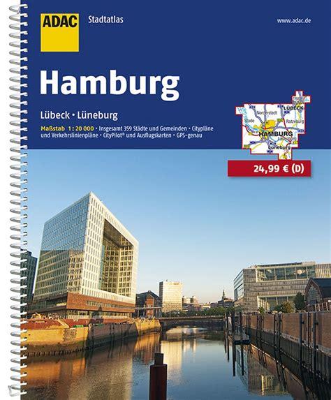 Adac Stadtatlas Hamburg Mit Lubeck Luneburg 1 20 000 Adac ...