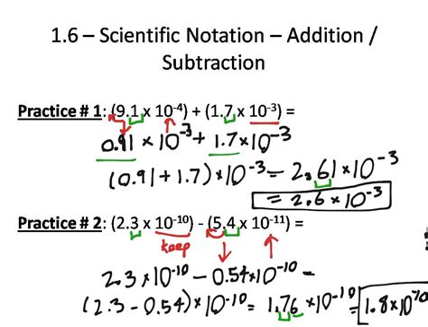 Adding And Subtracting Scientific Notation (ePUB/PDF) Free