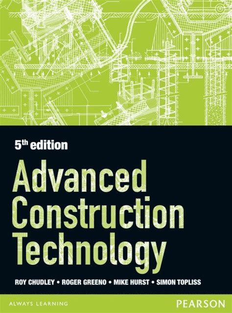 Advanced Construction Technology 5th Edition