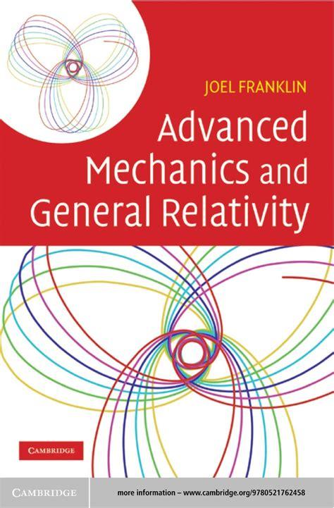 Advanced Mechanics And General Relativity Solutions Manual (ePUB/PDF
