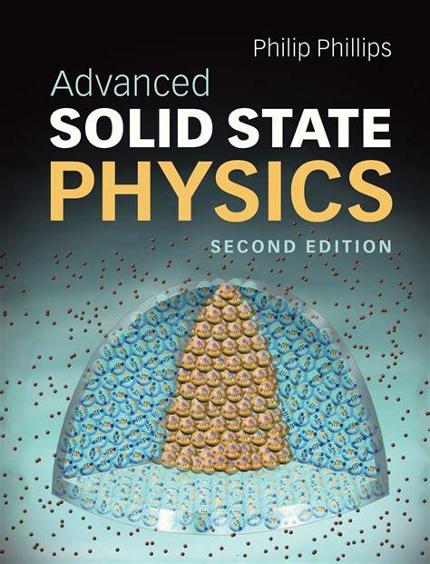 Advanced Solid State Physics Phillips Philip (ePUB/PDF)