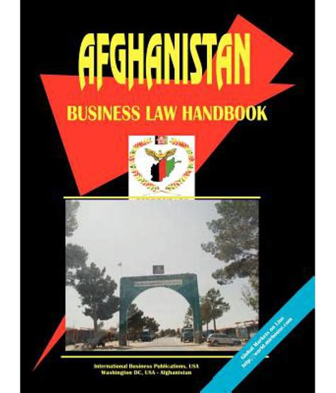 Afghanistan Business Law Handbook