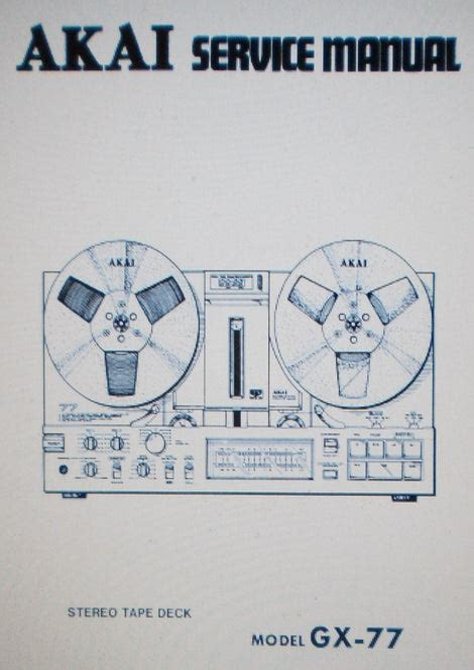 Surprising Akai Gx 77 Service Manual Epub Pdf Wiring 101 Picalhutpaaxxcnl