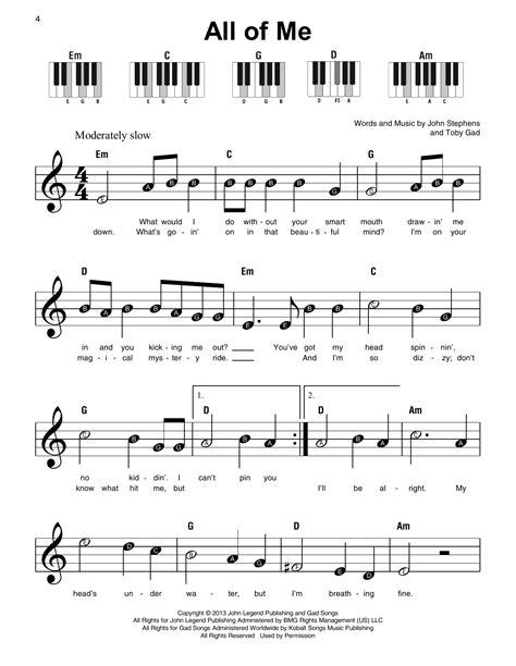 All Of Me Chords Piano (ePUB/PDF) Free