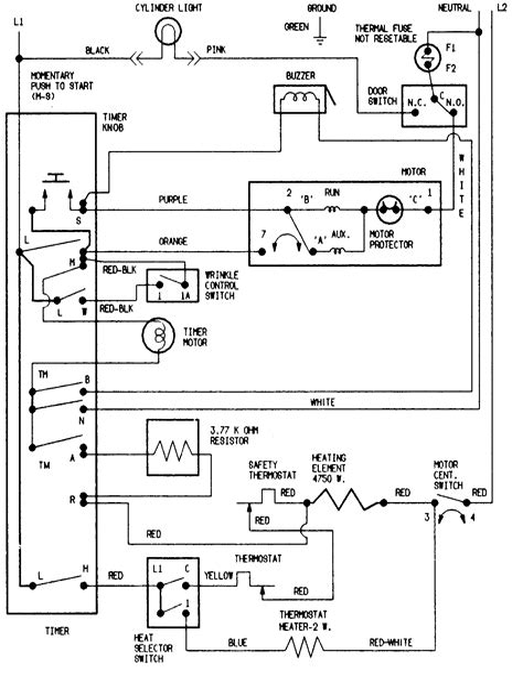 amana dryer nedtw parts diagram amana image wiring diagram for amana dryer wiring image wiring on amana dryer ned7200tw parts diagram
