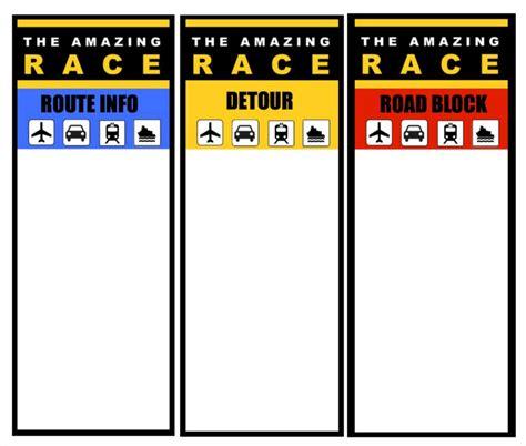 Amazing Race Clue Card Templates (ePUB/PDF) Free