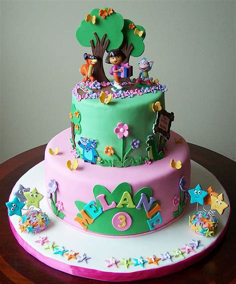 Amazon dora birthday cake