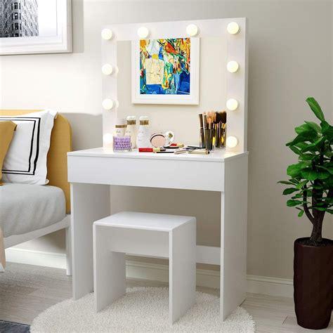 Amazon dresser mirror vanity