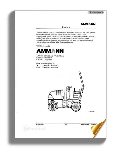 Ammann Av16 Manual (ePUB/PDF)