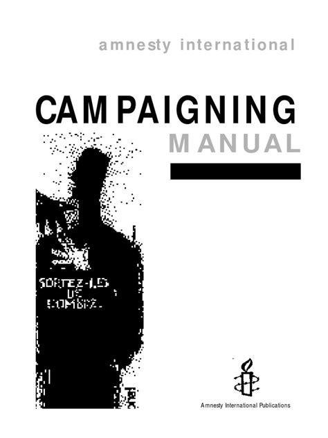 Amnesty International Campaigning Manual (Free ePUB/PDF)
