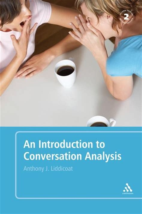 An Introduction To Conversation Analysis Second Edition