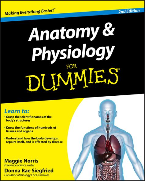Anatomy And Physiology For Dummies For Dummies Math Science 2nd Second Edition