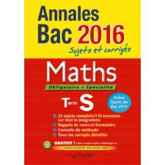 Annales 2016 Maths Ts By Sandrine Bodini Lefranc 2015 08 20