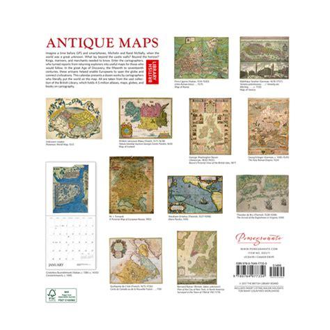 Antique Maps 2018 Wall Calendar (ePUB/PDF)