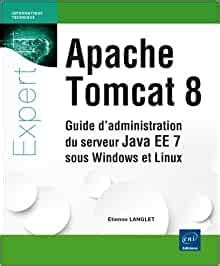 Apache Tomcat 8 Guide Dadministration Du Serveur Java EE 7 Sous Windows Et Linux