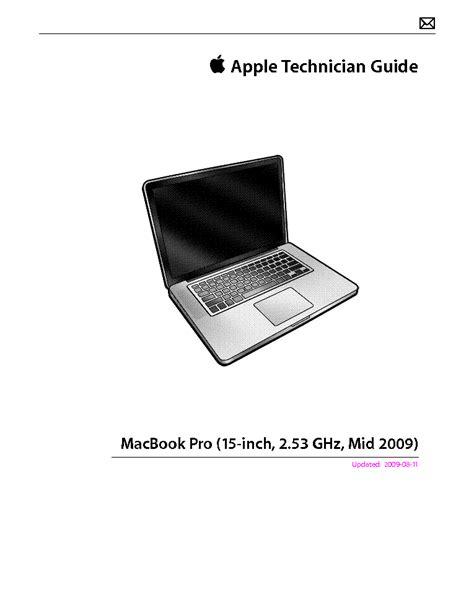 Apple Macbook Pro Repair Manual (ePUB/PDF)