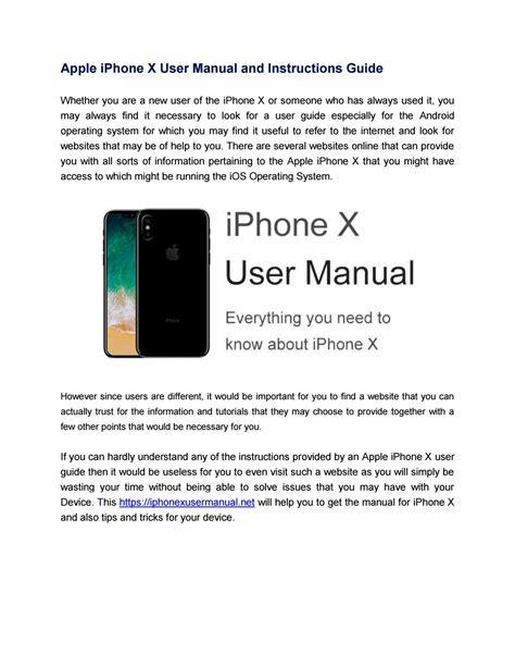 Apple Manuals Online (ePUB/PDF)