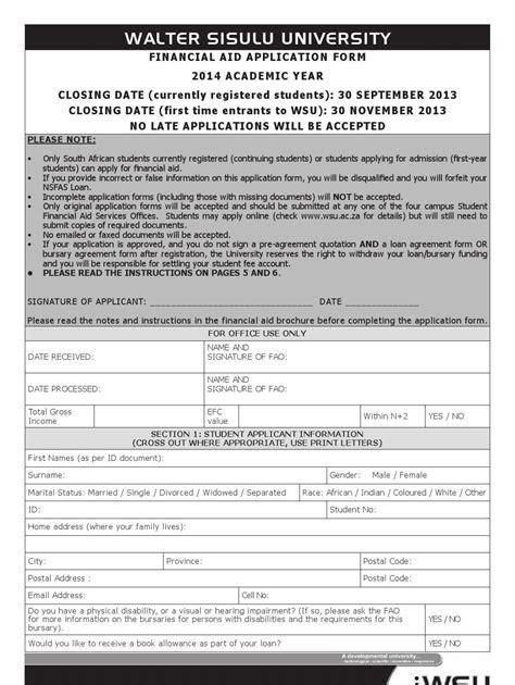 Application Forms For 2015 Walter Sisulu Unirsity (ePUB/PDF) Free