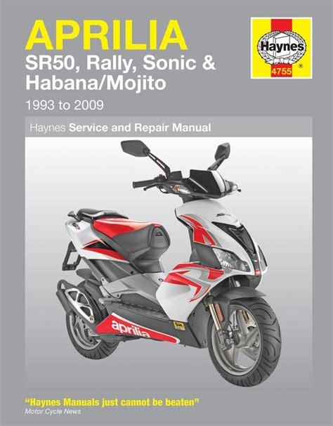 aprilia service manual