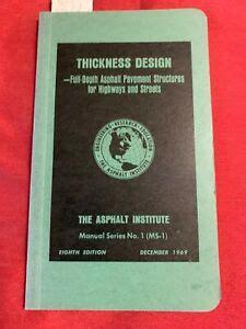 Asphalt Institute Manual Ms 1 (ePUB/PDF)