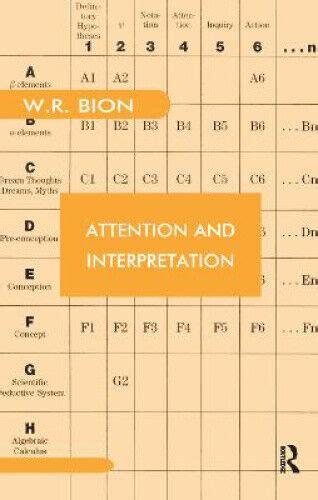 Attention And Interpretation Bion W R (ePUB/PDF) Free