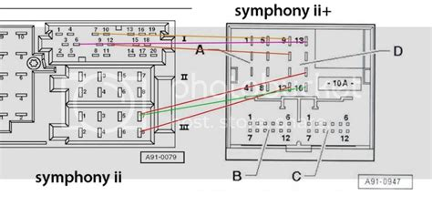 Audi Symphony Wiring - Wiring Diagrams on