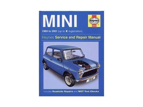 Austin Mini Cooper Manual (ePUB/PDF)