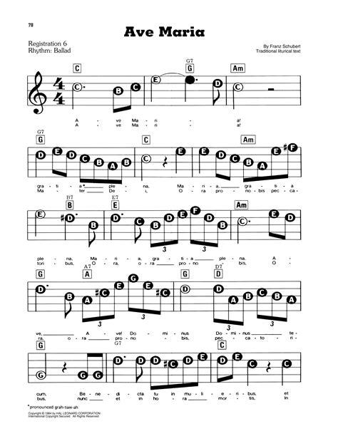 Ave Maria Sheet (ePUB/PDF) Free