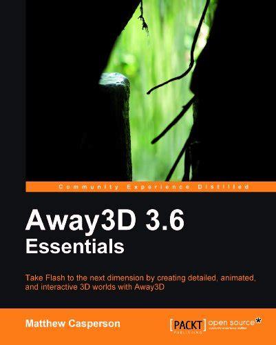 Away3d 36 Essentials Casperson Matthew (ePUB/PDF) Free