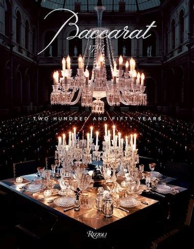 Baccarat Two Hundred And Fifty Years By Moss Murray Benaim Laurence 2013 Hardcover