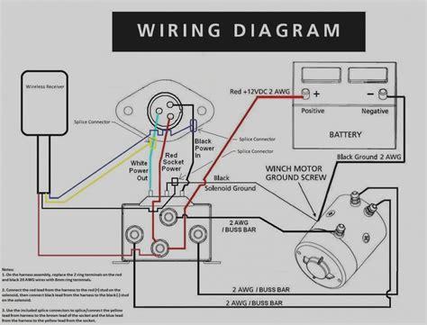 12 volt motor wiring diagram for winch  Lb Electric Badland Winch Wiring Diagram on
