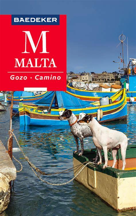 Baedeker Reisefuhrer Malta Gozo Comino Mit Grosser Reisekarte ...