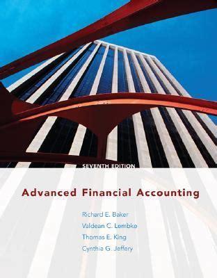 Baker Advanced Financial Accounting (ePUB/PDF)