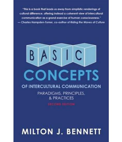 Basic Concepts Of Intercultural Communication Paradigms Principles And Practices