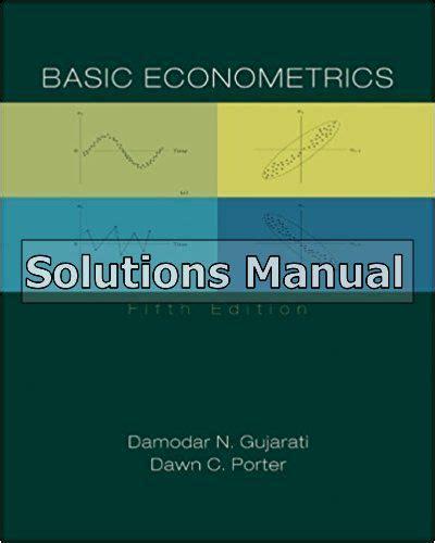 Basic Econometrics Gujarati Solutions Manual (ePUB/PDF)